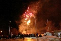 Les feux d'artifice d'ouverture