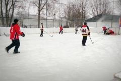 Le tournoi de hockey bottine
