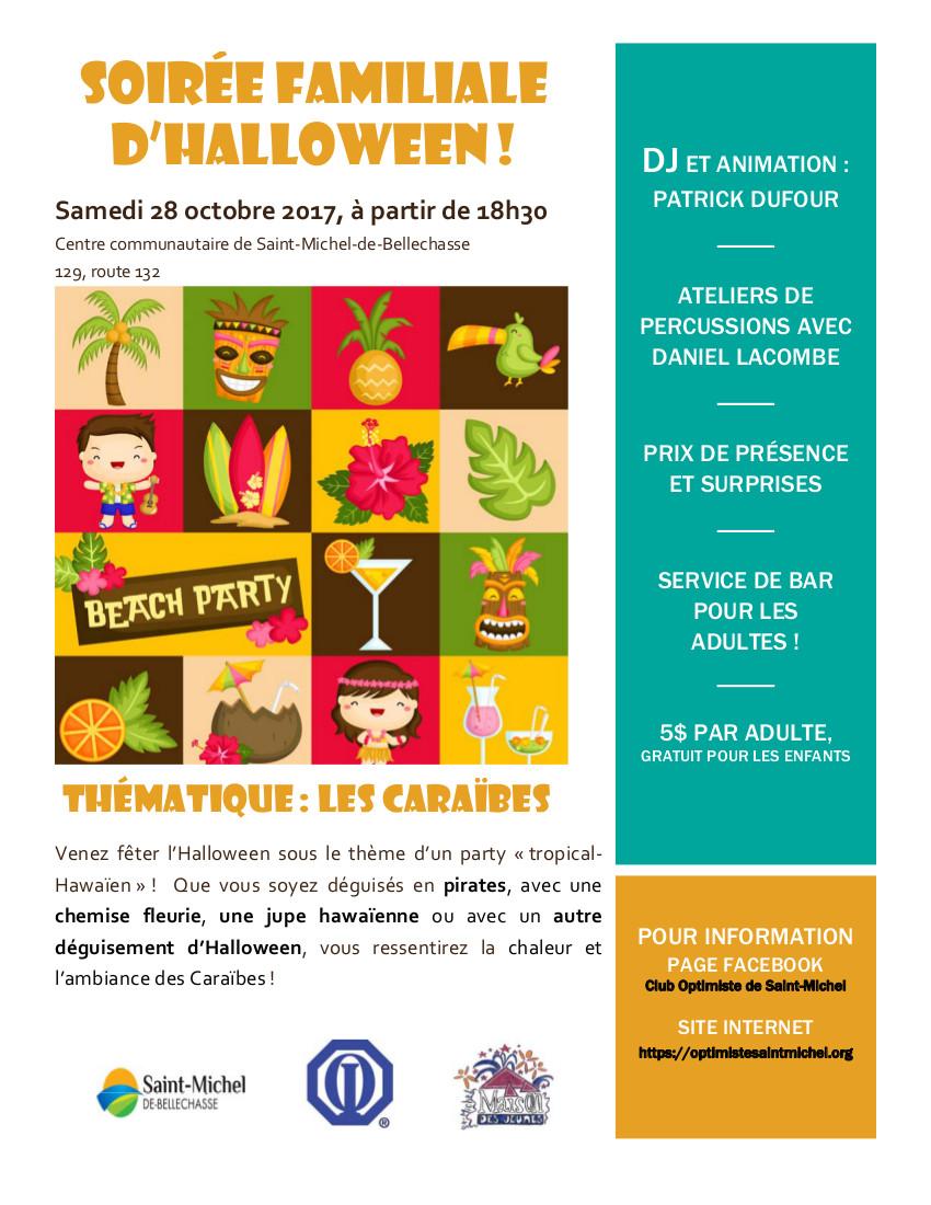 Halloween 2017 - Les Caraibes