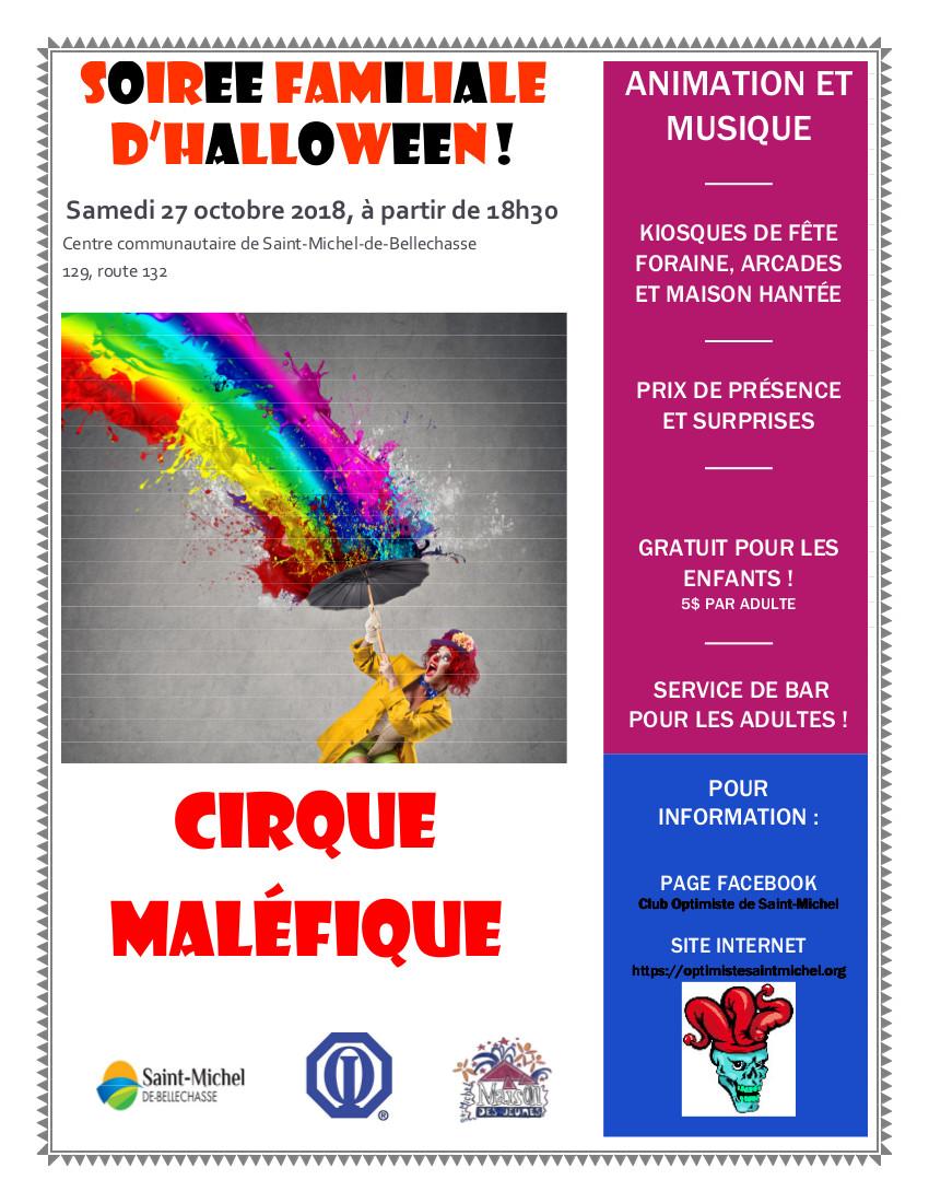 Halloween 2018 - Cirque Maléfique
