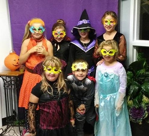 Soirée familiale d'Halloween